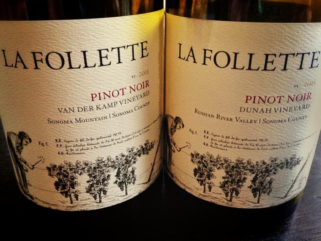 La Follette Pinot Noirs