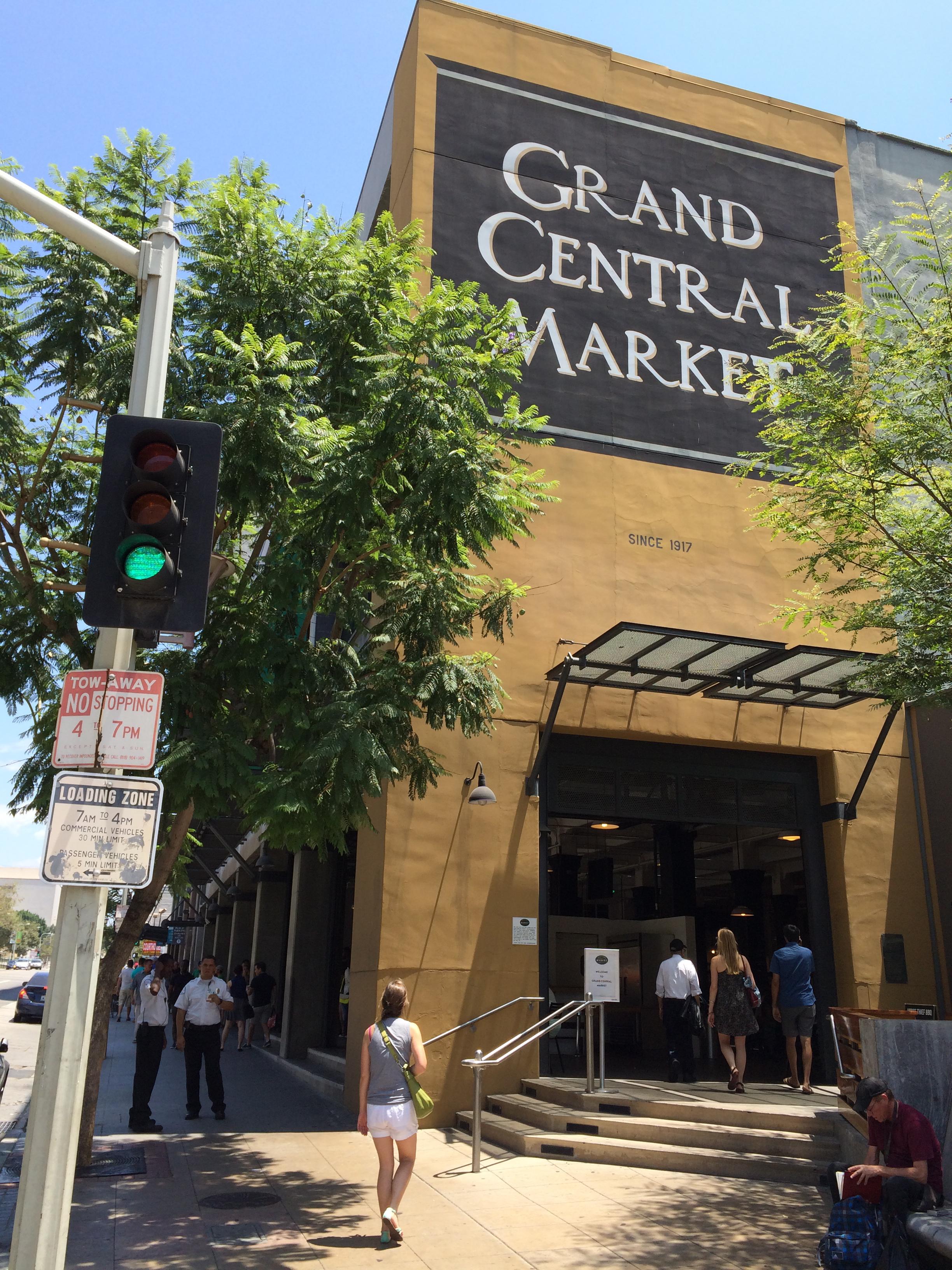 Grand Central Market, LA