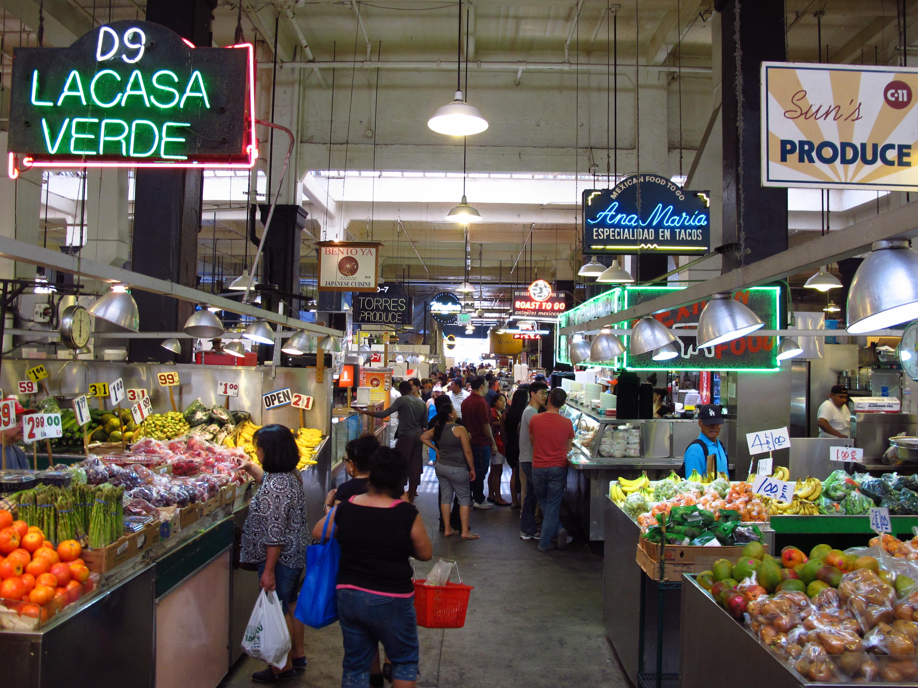 La Casa Verde, Grand Central Market, LA