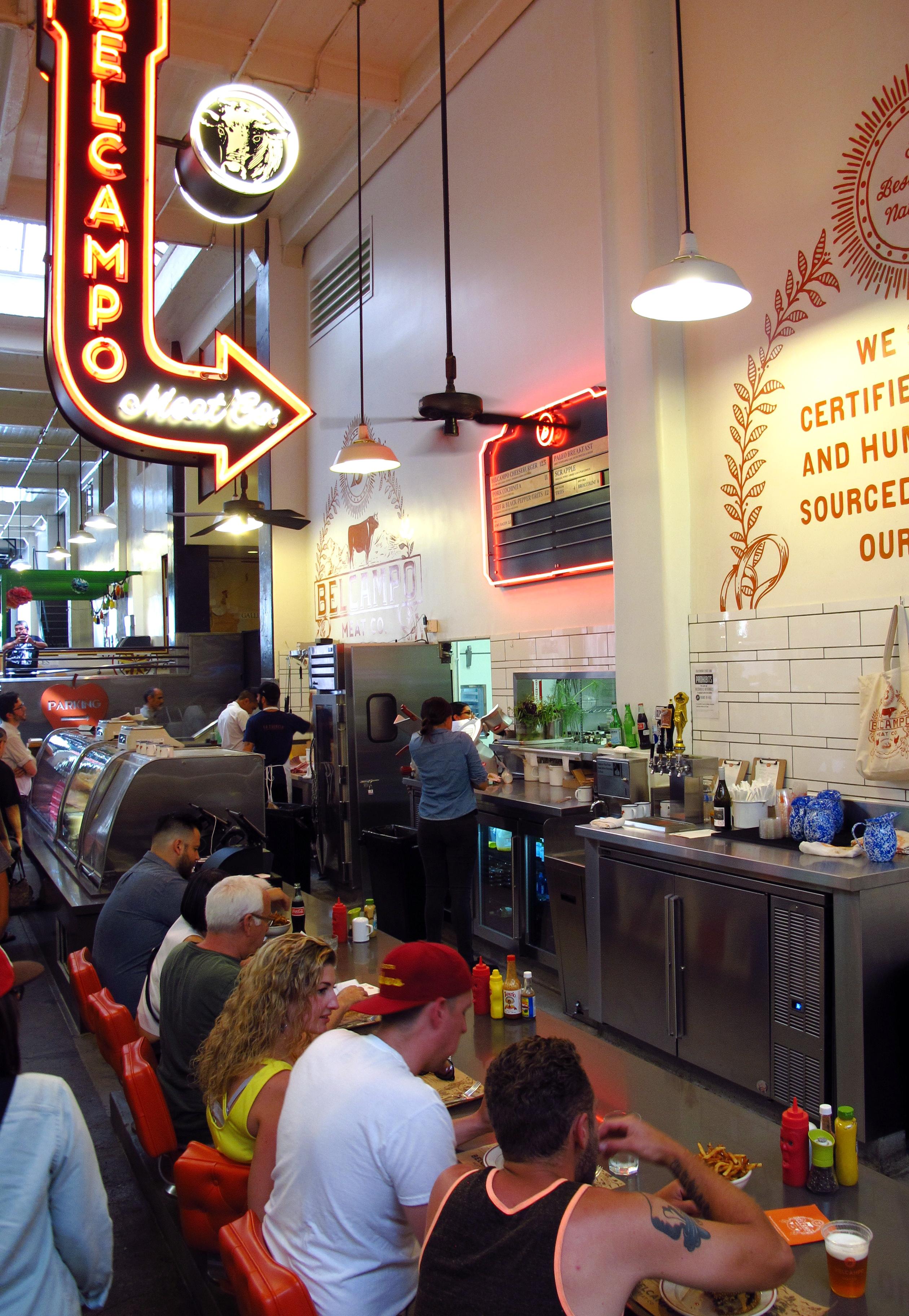 Bel Campo, Grand Central Market, LA