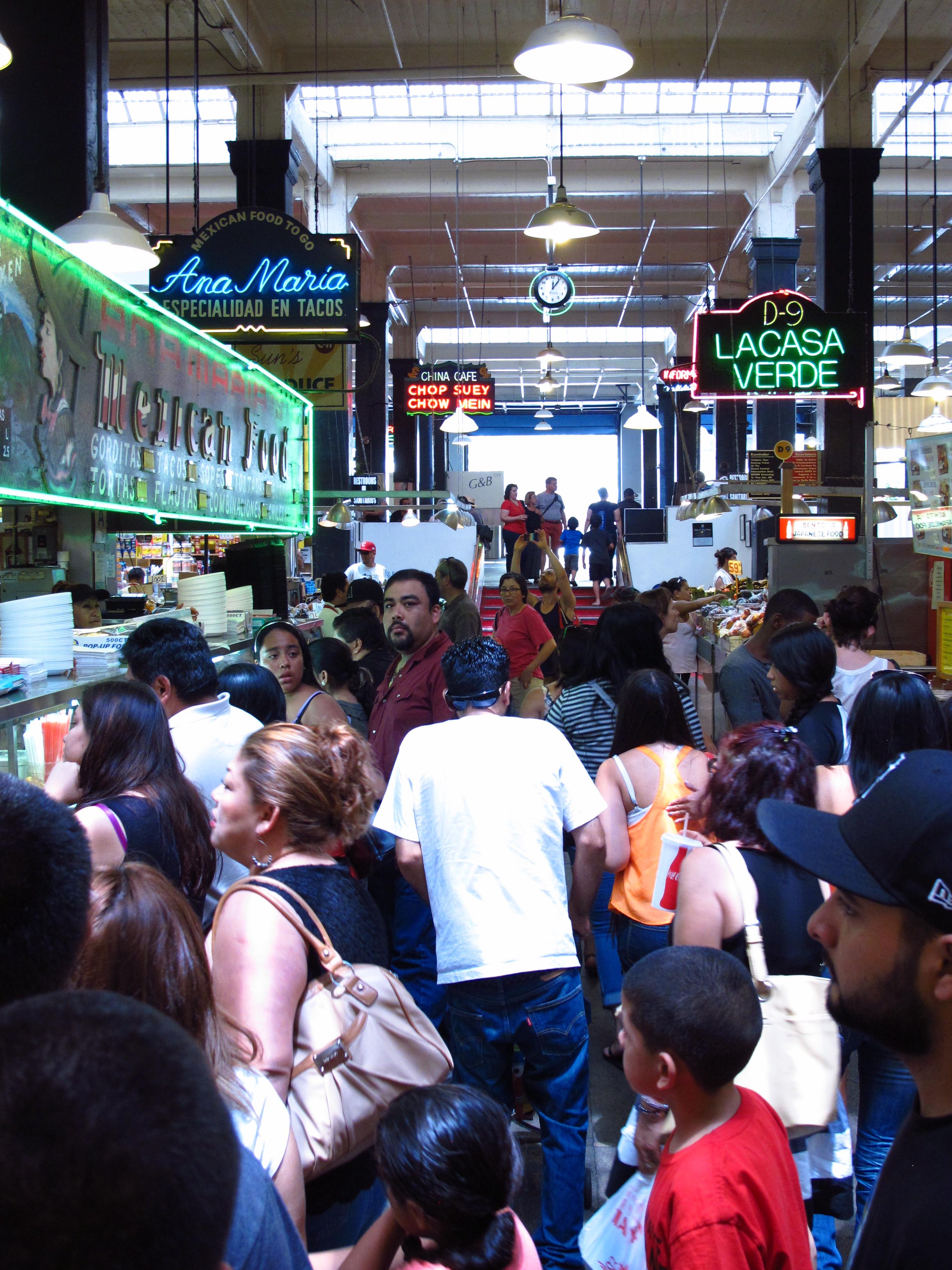Ana Maria, Grand Central Market, LA