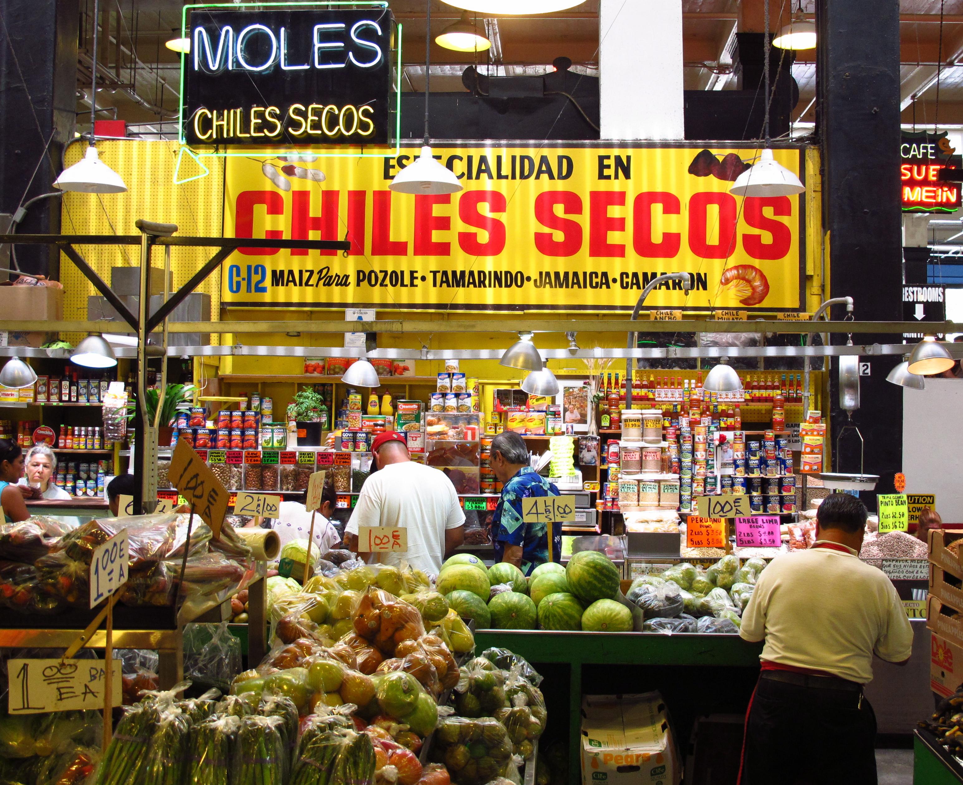 Chiles Secos, Grand Central Market, LA
