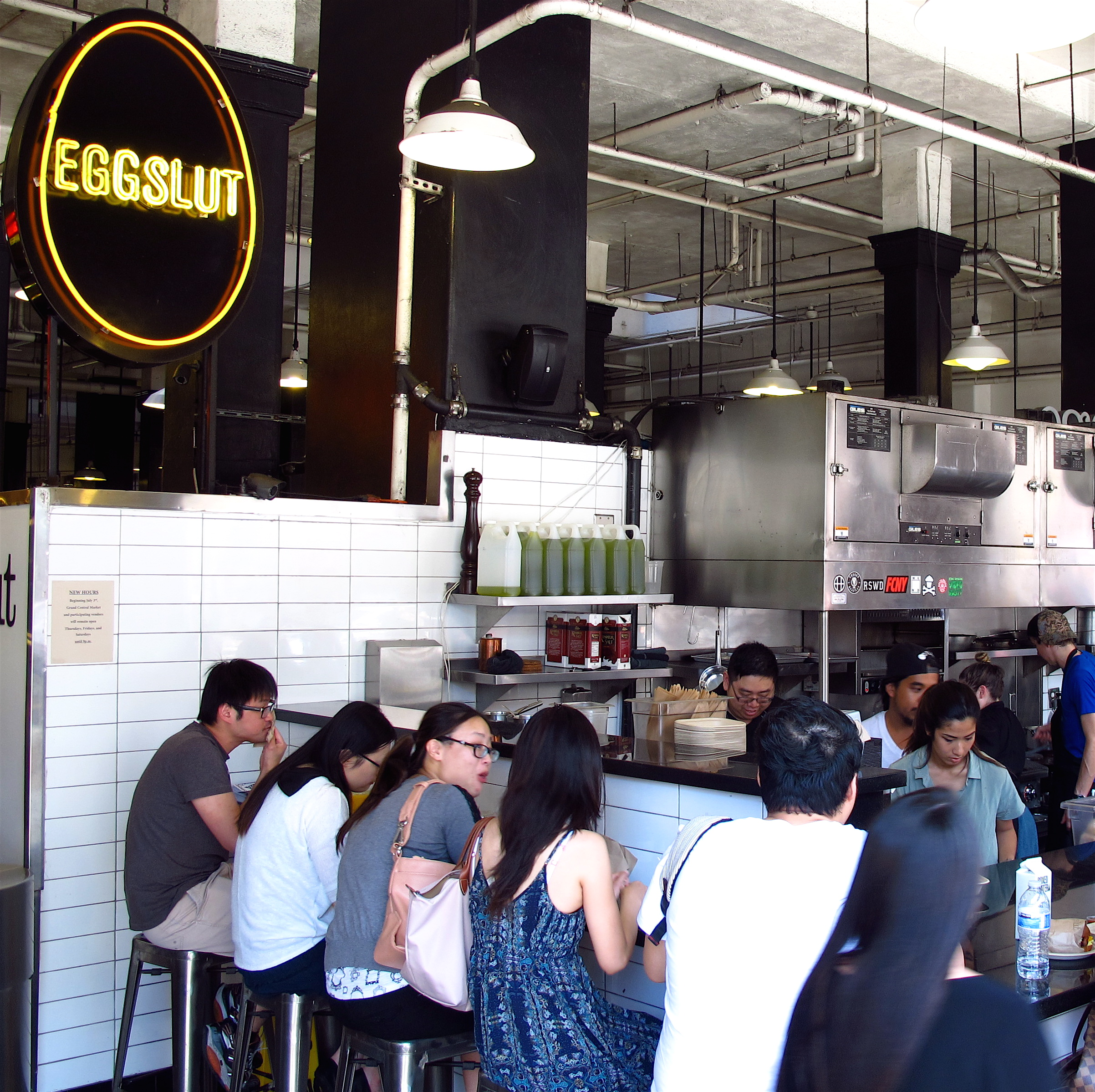Eggslut, Grand Central Market, LA