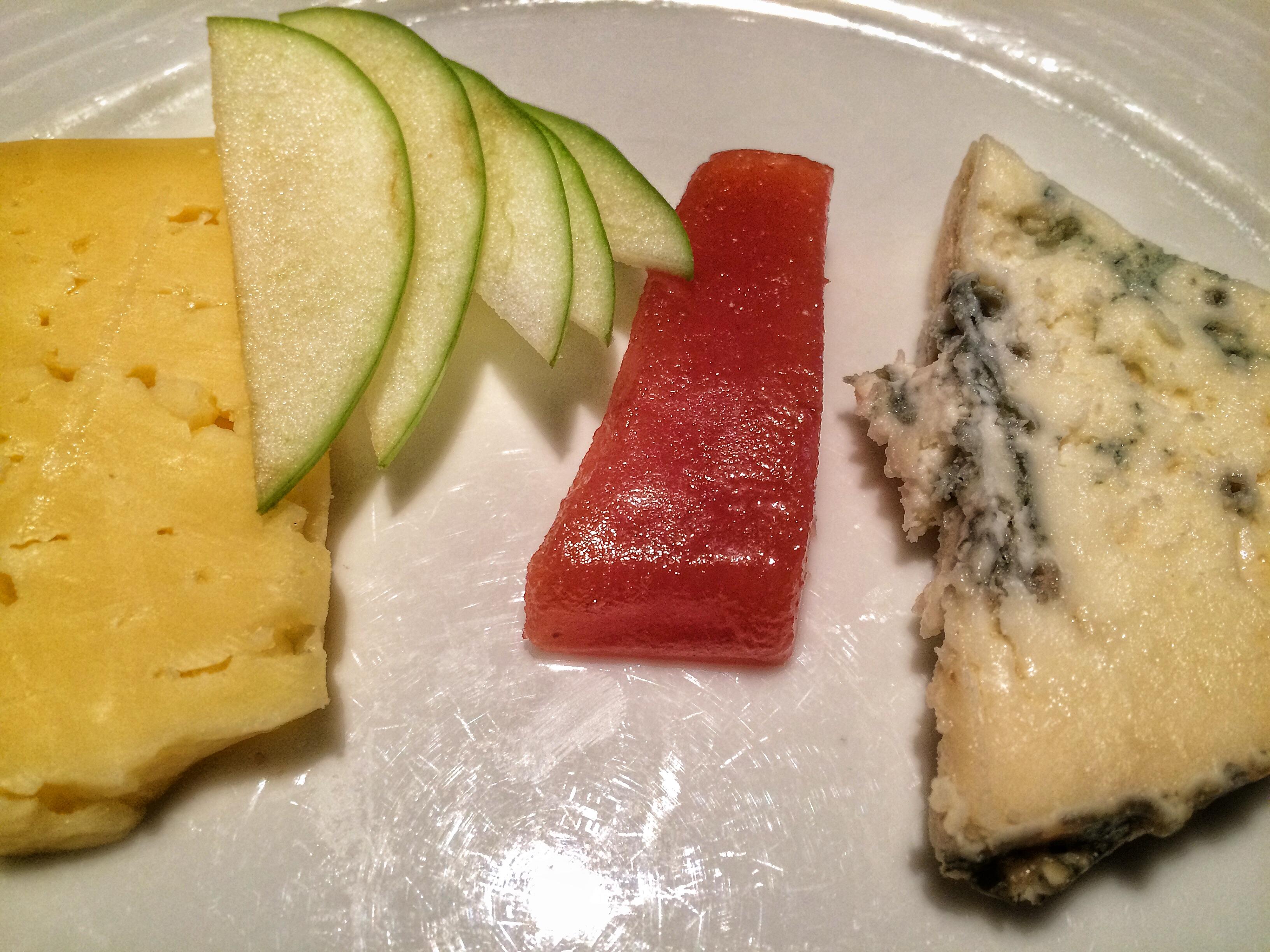 Irish Cheese Course