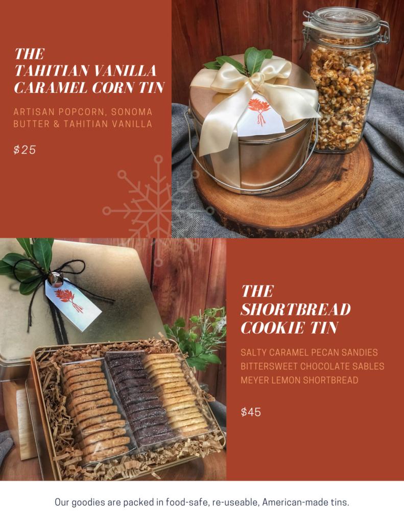 Tahitian Vanilla Caramel Corn & BLC Shortbread