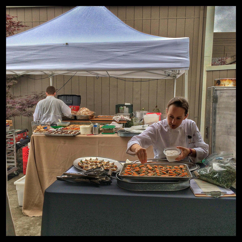 Chefs Assembling Horsdoeuvre