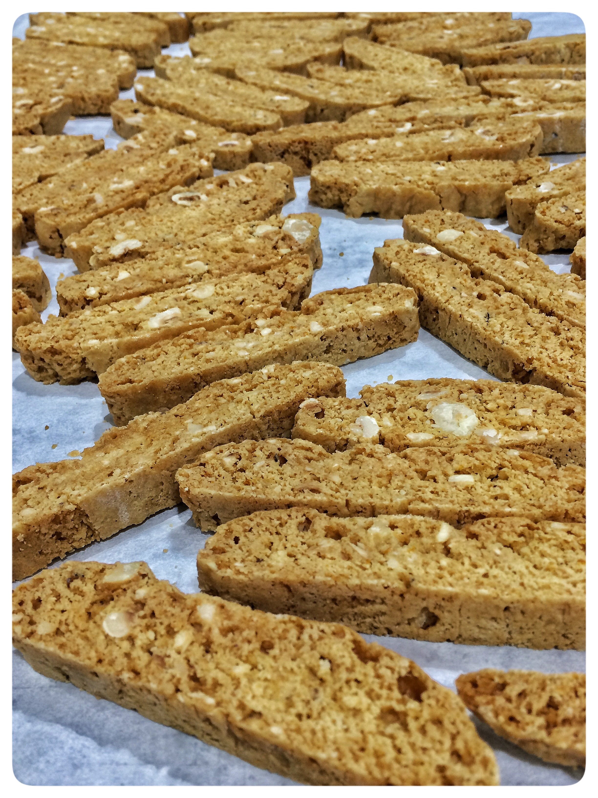 The Finished Biscotti Ready to Package