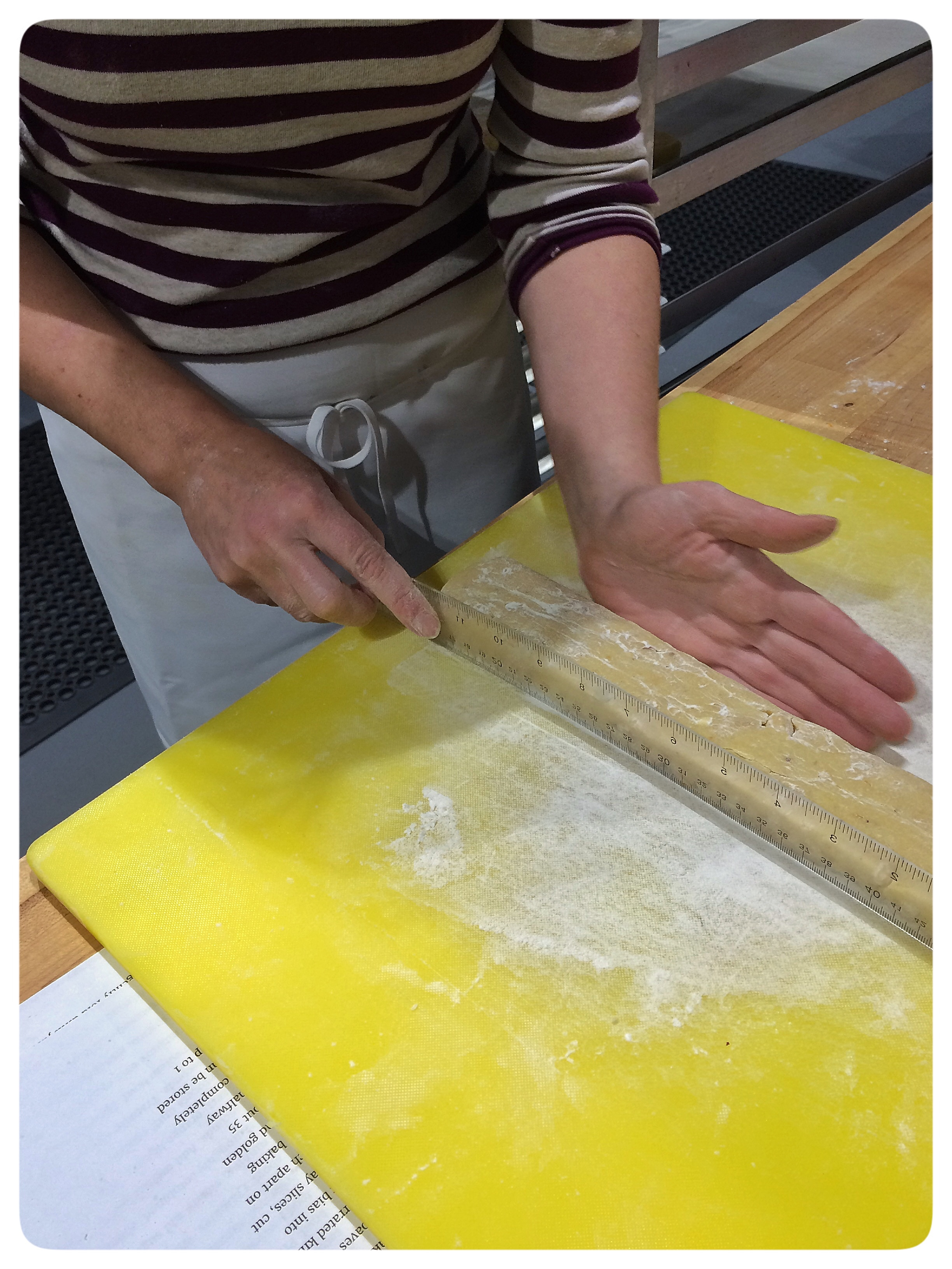 Shaping the Dough into Loaves for the First Bake