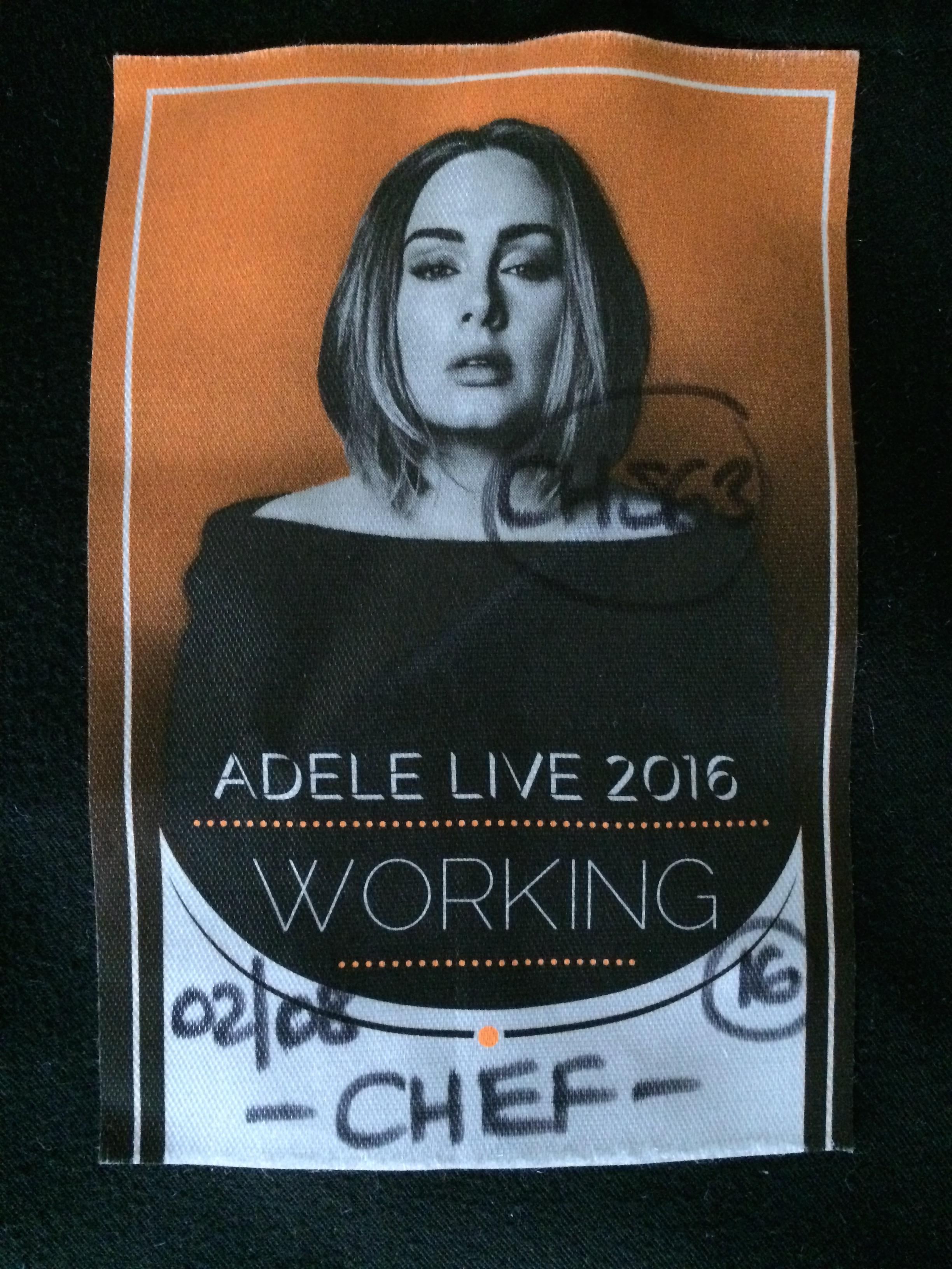 Dinner for Adele