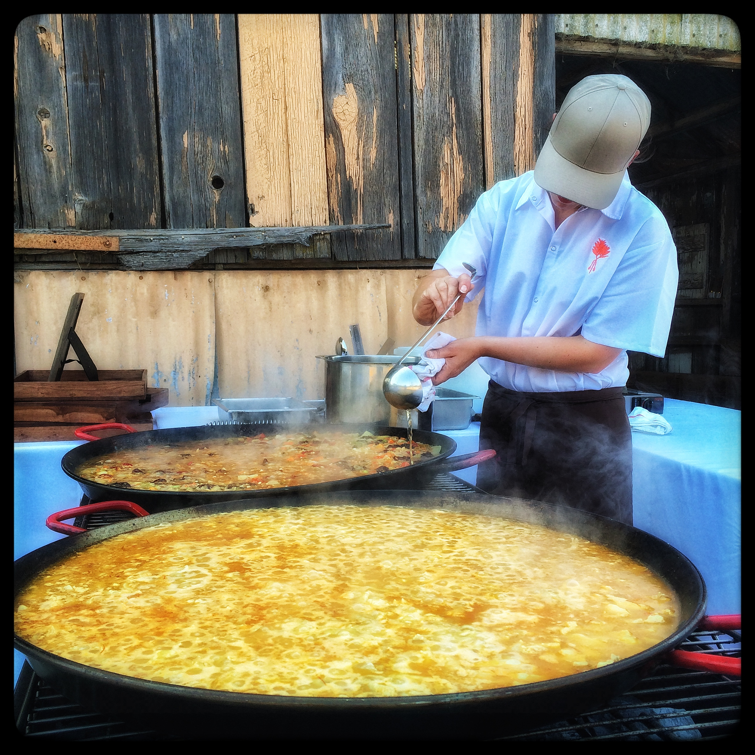 Paella at the Half Way Mark