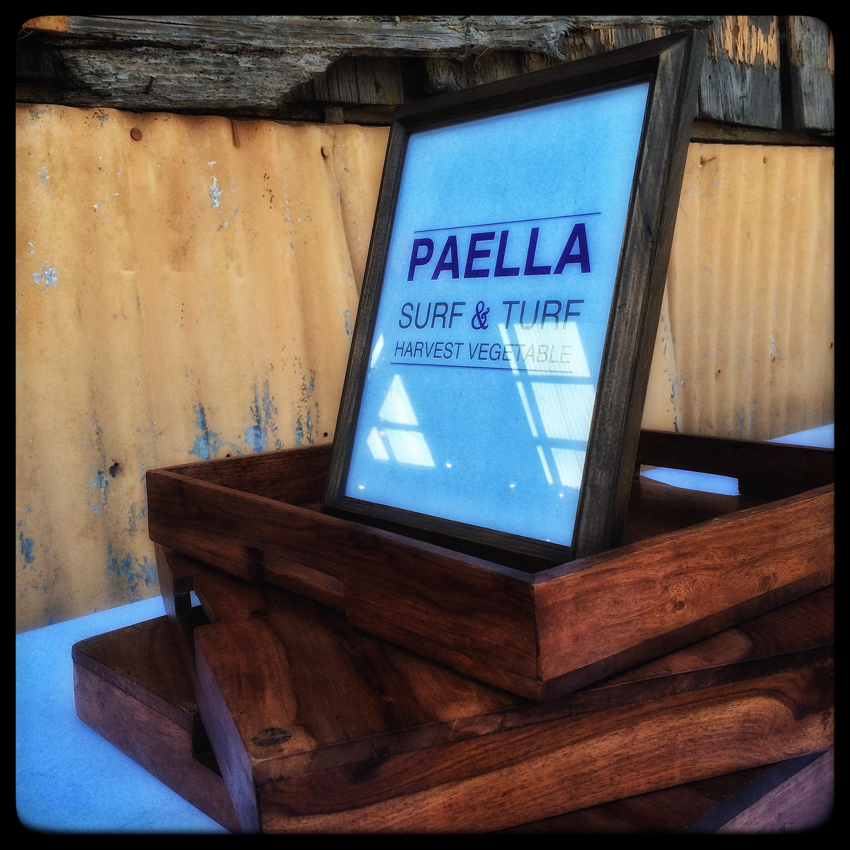 Paella on the Menu