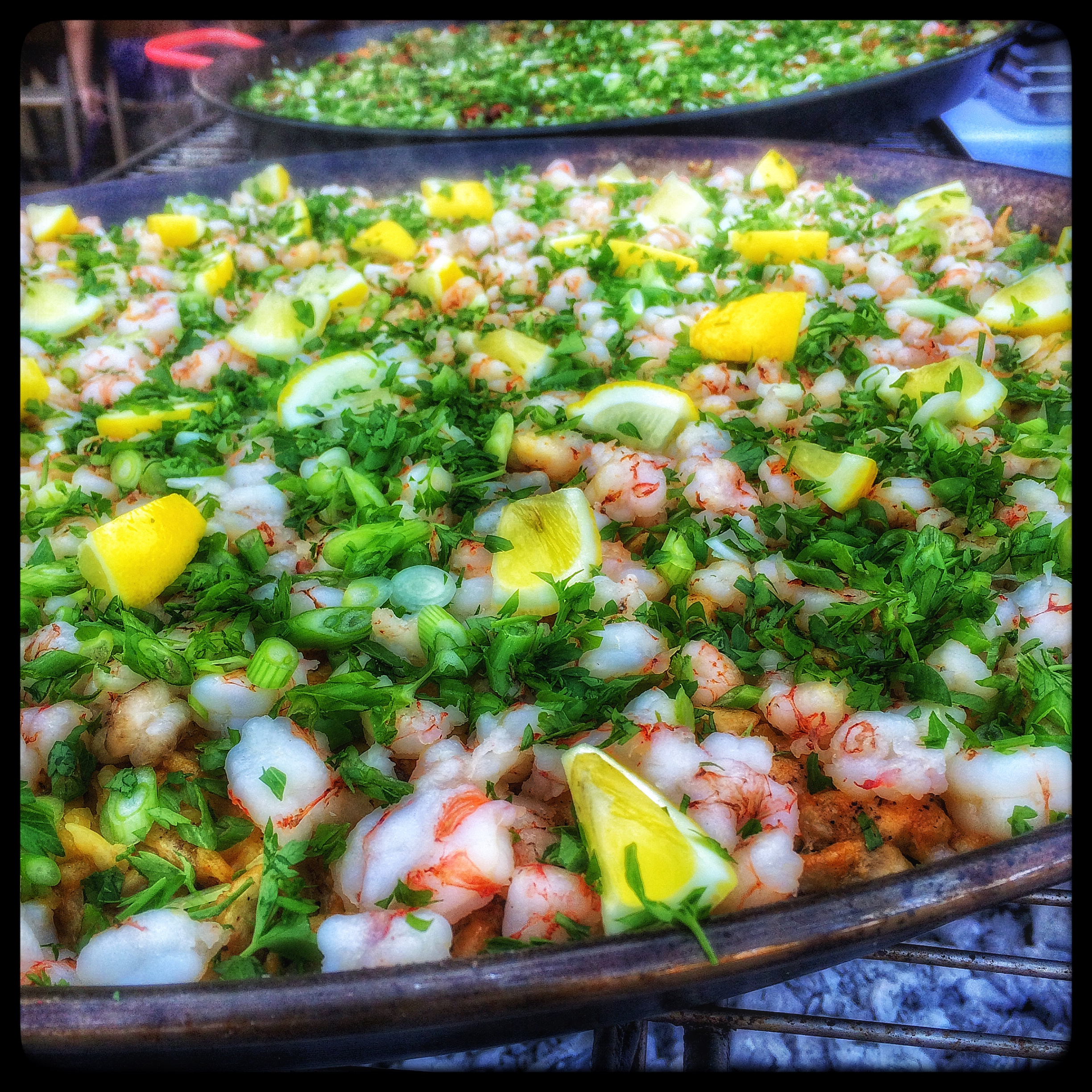The Finished Paella