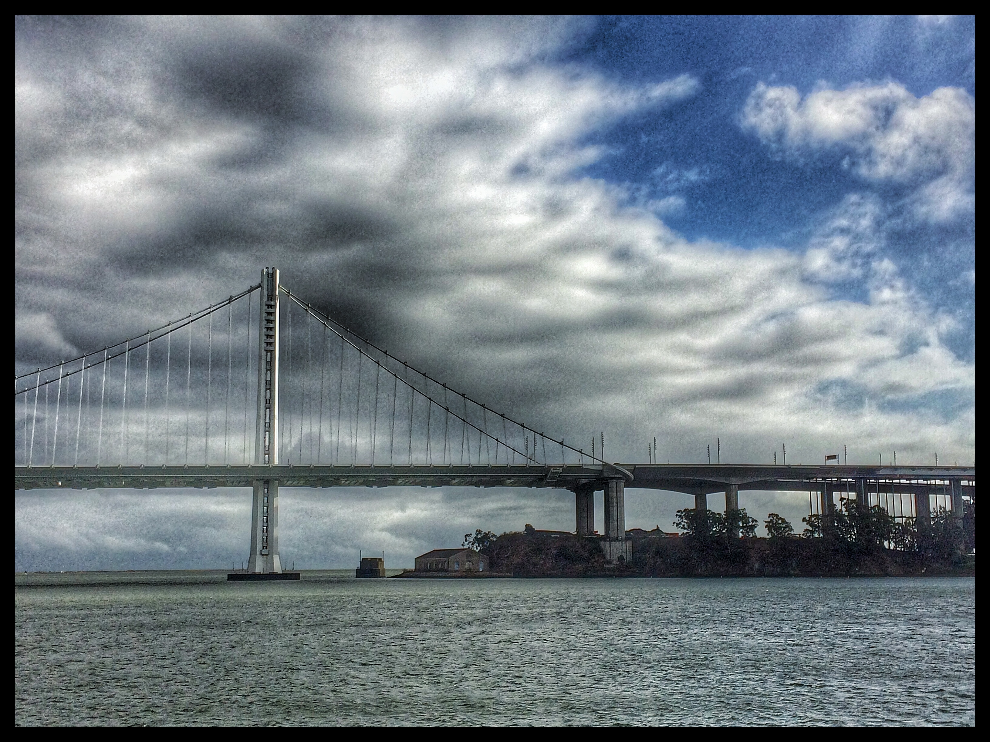 A Great View of the New Bay Bridge