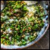 Kale and Farro with Pecorino
