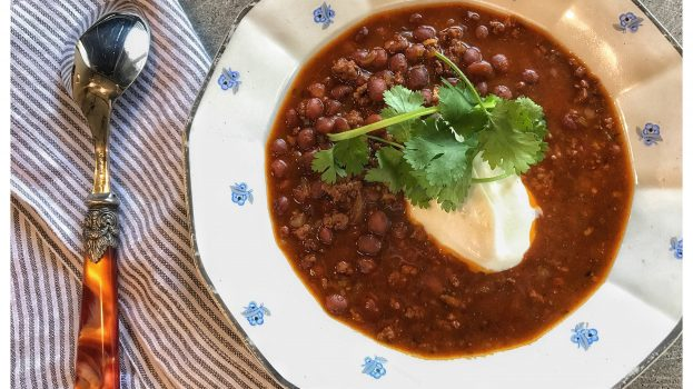 Grass Fed Beef & Bean Chili