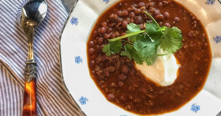 It's Always a Good Time for Chili