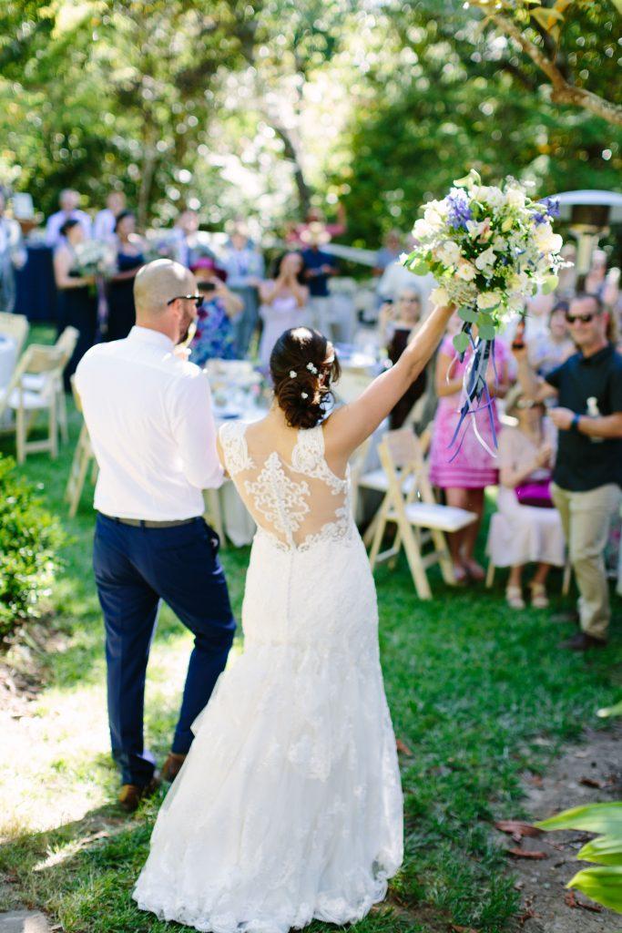Wedding Album – A West County Garden in June