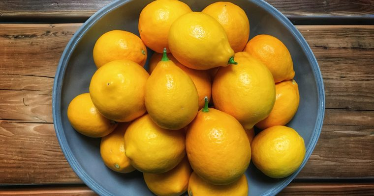 When Life Gives You Meyer Lemons….