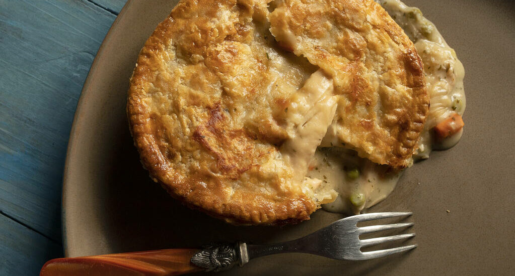 BLC Chicken Pot Pies