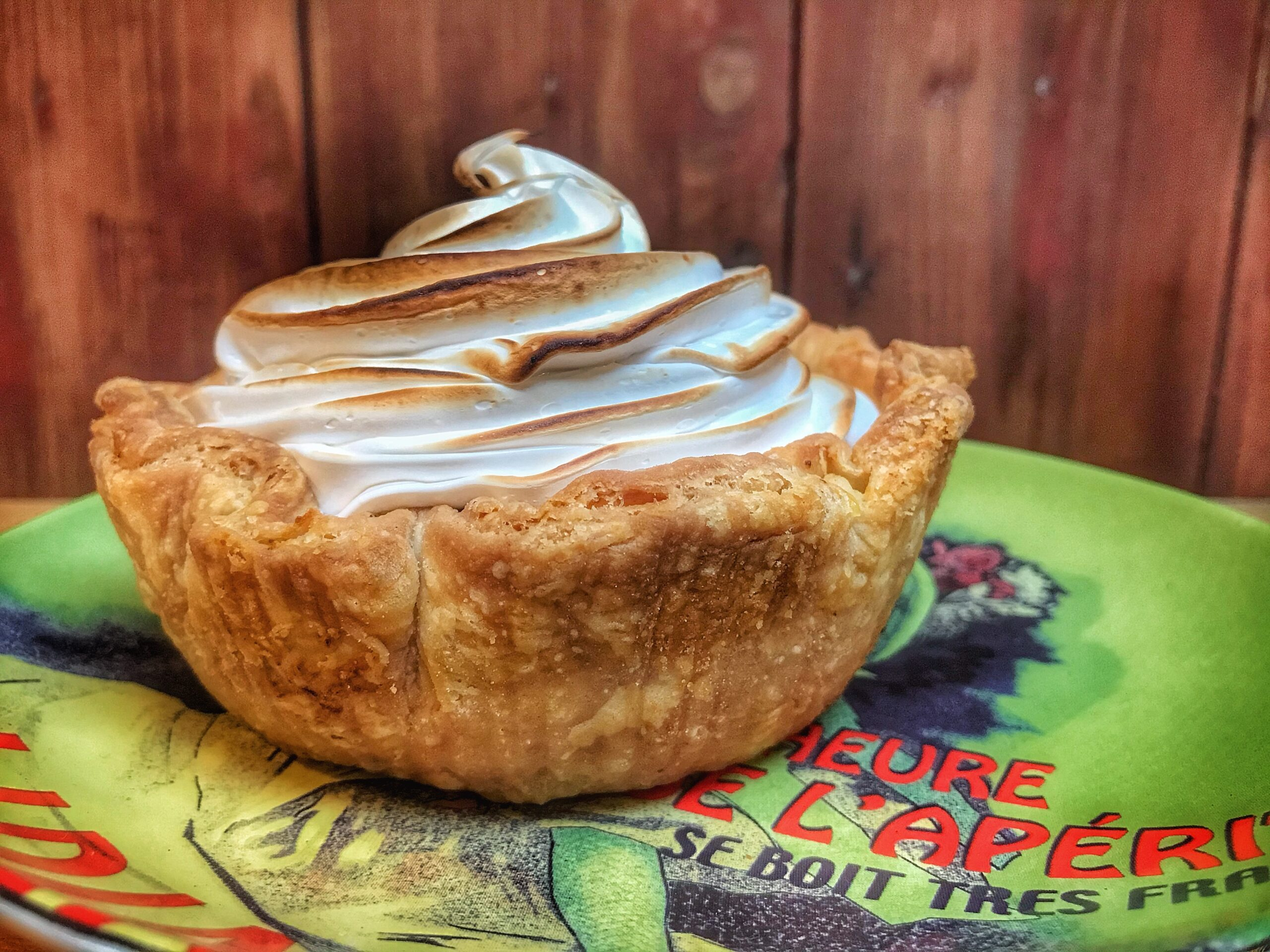 Lemon Meringue Slump Pie