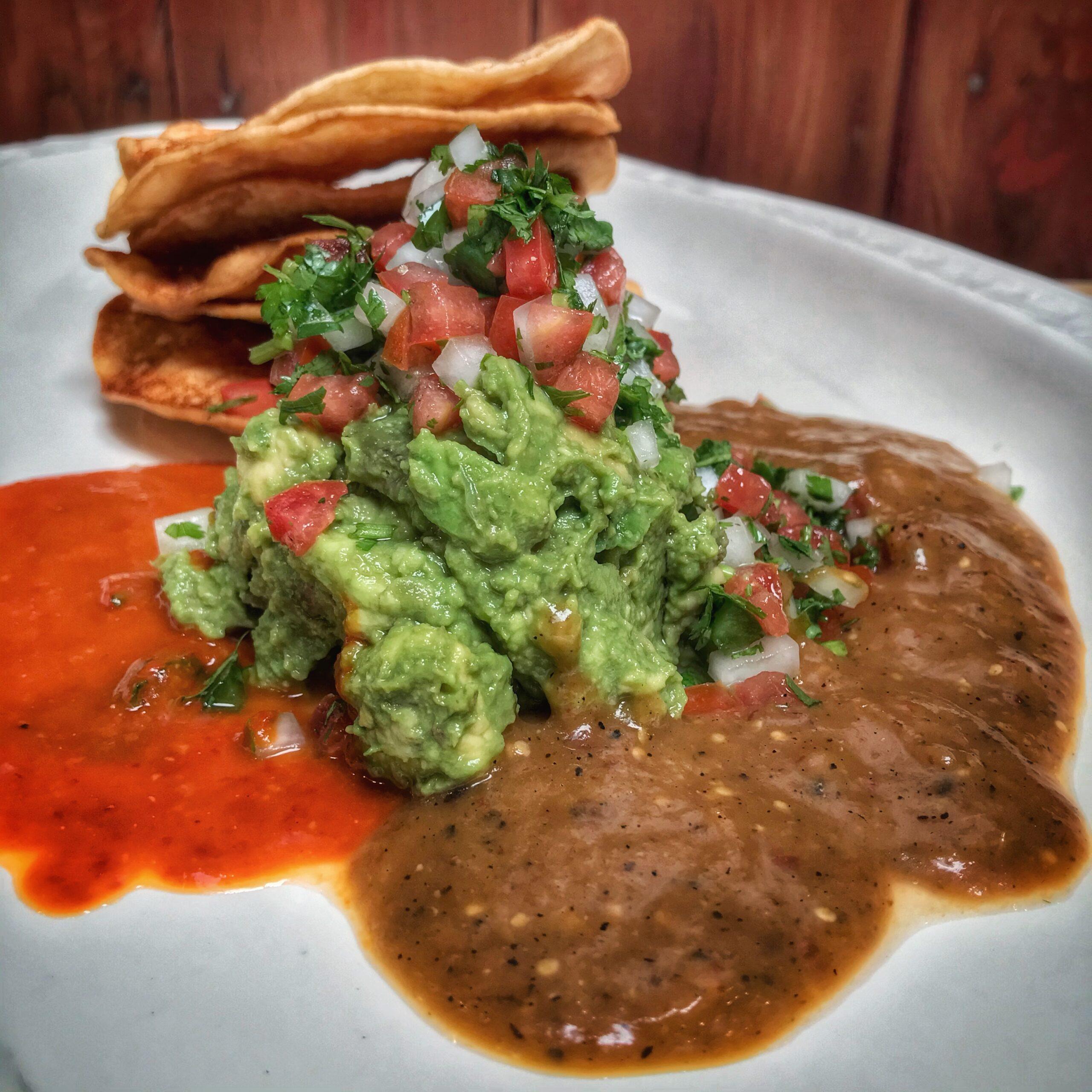 Guacamole & Salsa x3